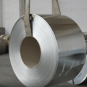 Galvanized and color coated steel